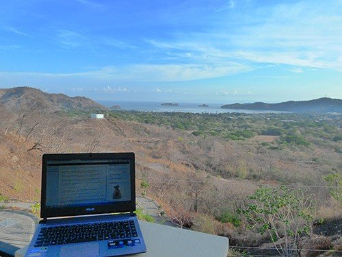 Working while traveling in Costa Rica
