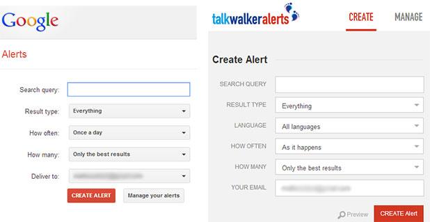 talk walker alerts vs google alerts