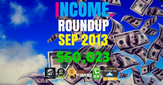 Income Report Roundup – September 2013