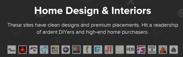 home design & interiors ad bundle