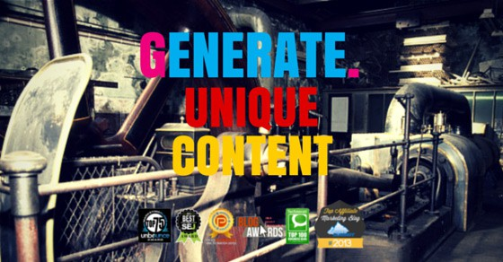 How To Easily Generate Unique Content For Link Building