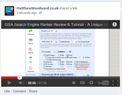 how to get youtube views on Facebook