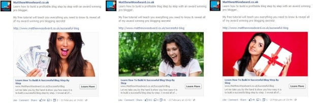 reduce Facebook advertising cost with split testing