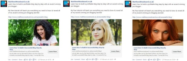 testing adverts is the best way to advertise on Facebook