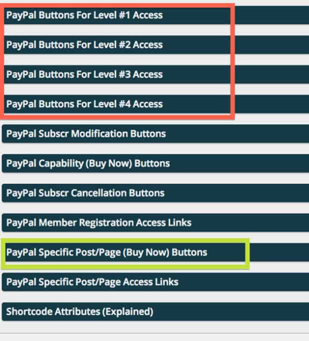advanced paypal buttons