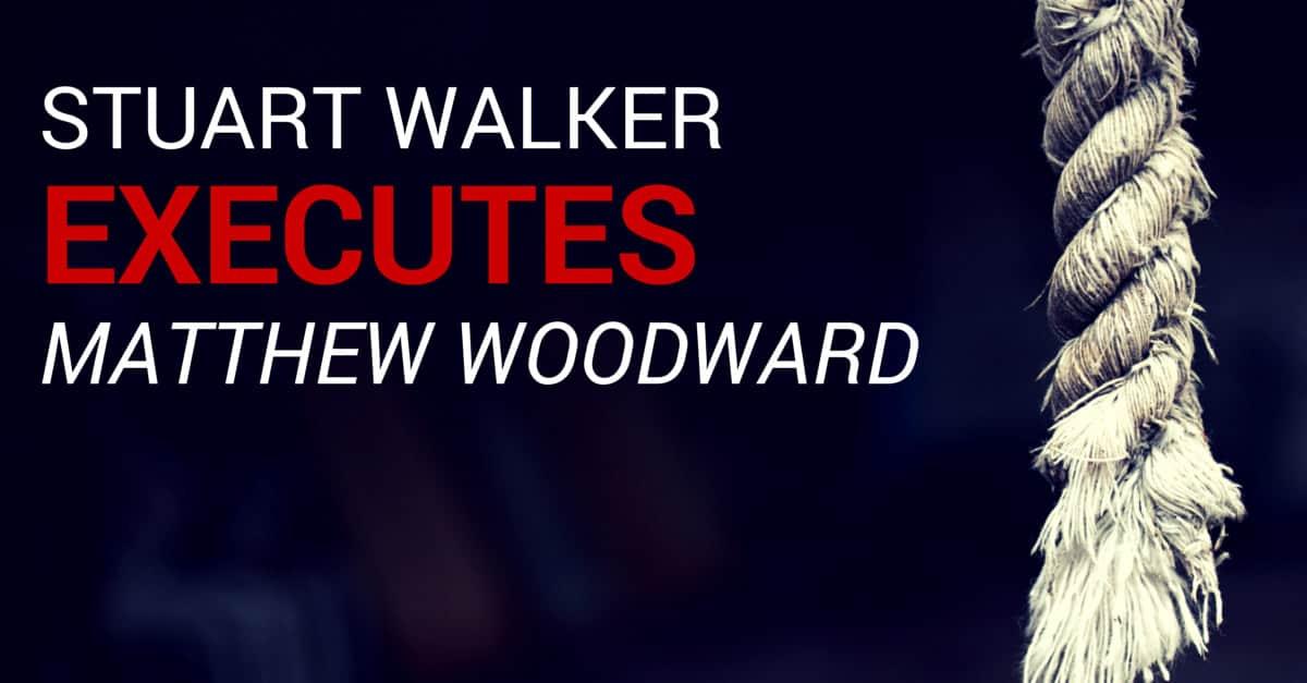 Stuart Walker vs Matthew Woodward