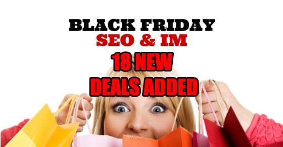 18 New Deals – The Best Internet Marketing Black Friday Deals 2014