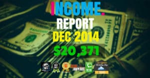 Monthly Income, Growth & Traffic Report – December 2014
