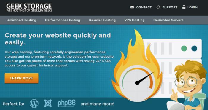 GeekStorage Homepage