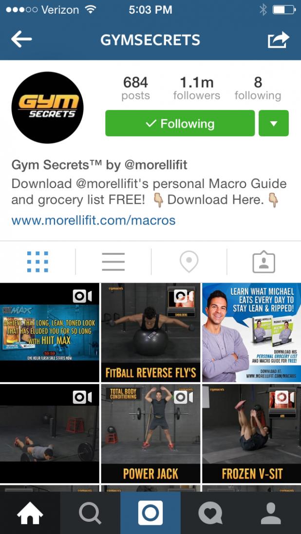 Instagram social backlinks