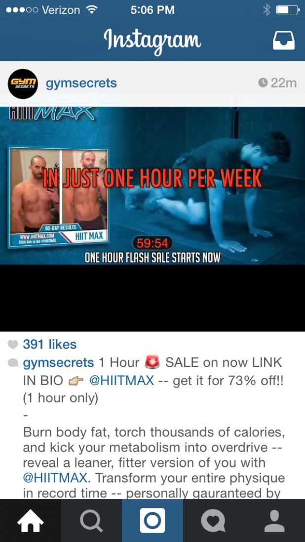 Instagram post links