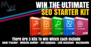 Win The Ultimate SEO Starter Kit Worth $748 – Claim Your Entry Now!