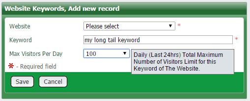 add keyword to increase Google ranking