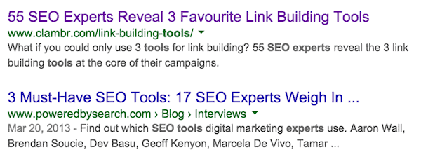 experts search 1