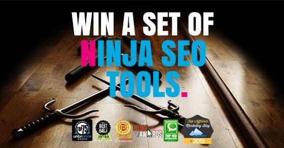 Win A Complete Set Of Ninja SEO Tools Worth $2,844