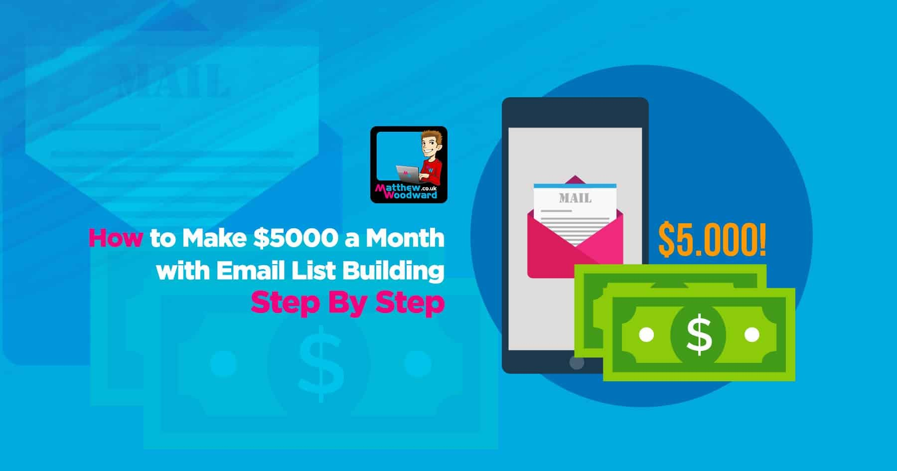How To Make $5,000 A Month With Email List Building Step By Step