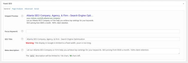 on page seo optimisation