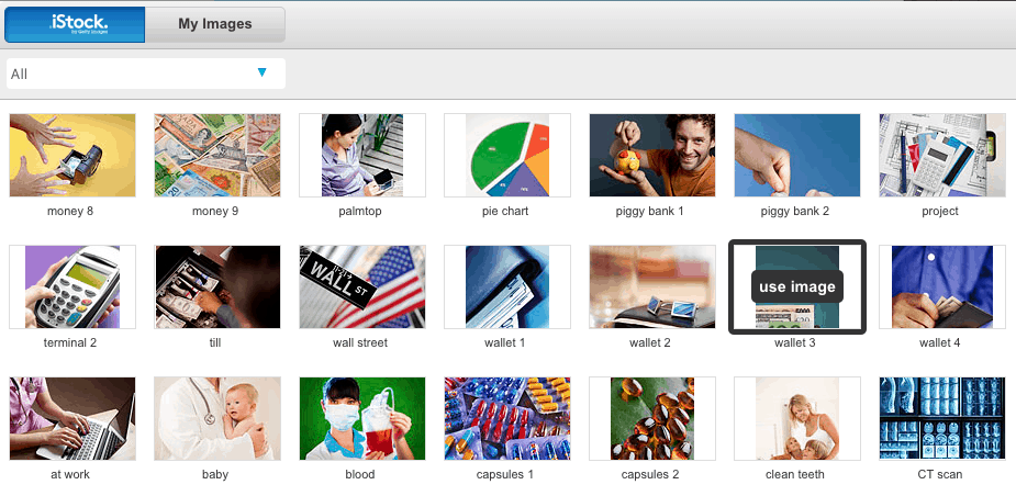 Stock image gallery