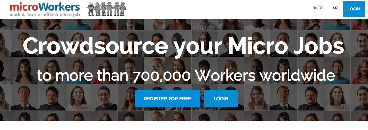 MicroWorkers offers lots of ways to make extra money online