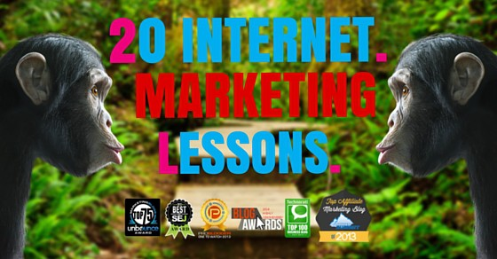 20 Marketing Lessons