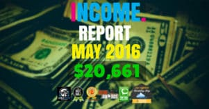 Monthly Income, Growth & Traffic Report – May 2016