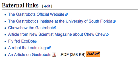matching wikipedia content