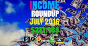 Income Report Roundup – July 2016