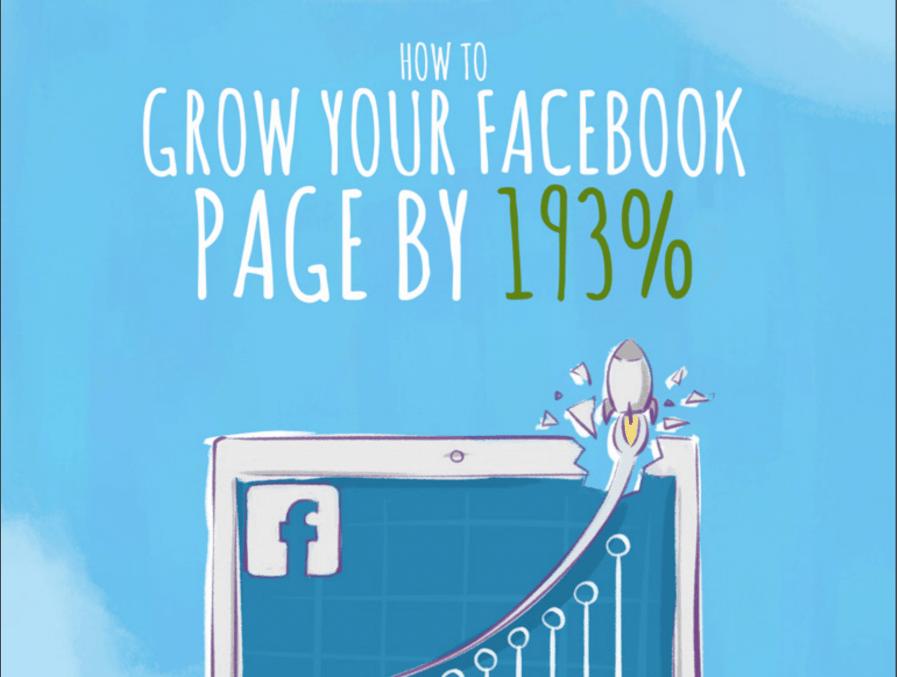 grow facebook page 193%