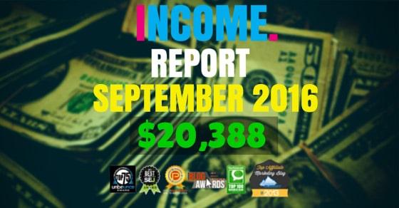 income report sept 2016
