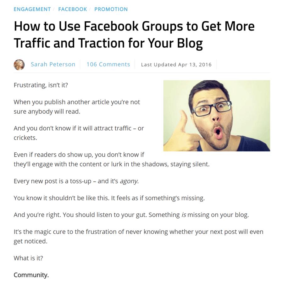 smartblogger facebook groups