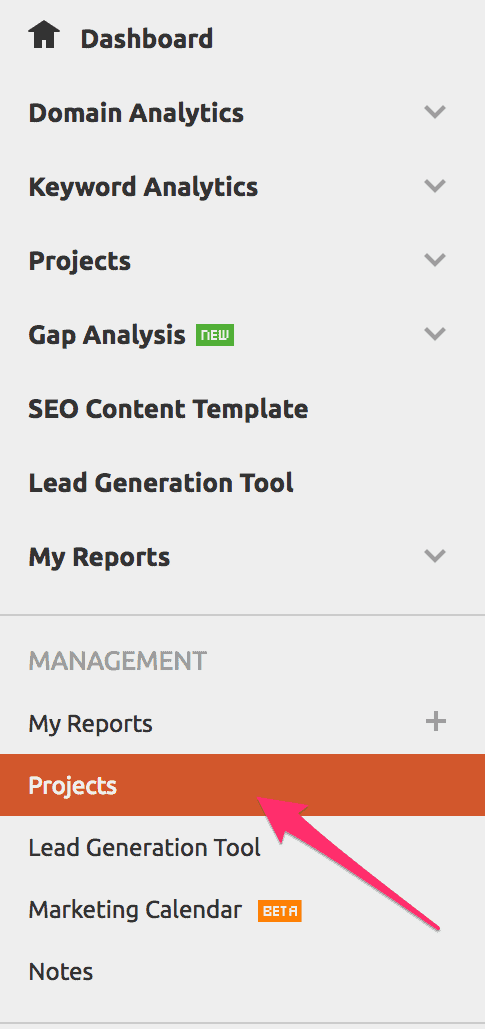 semrush seo audit