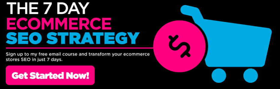 7 day ecommerce seo strategy