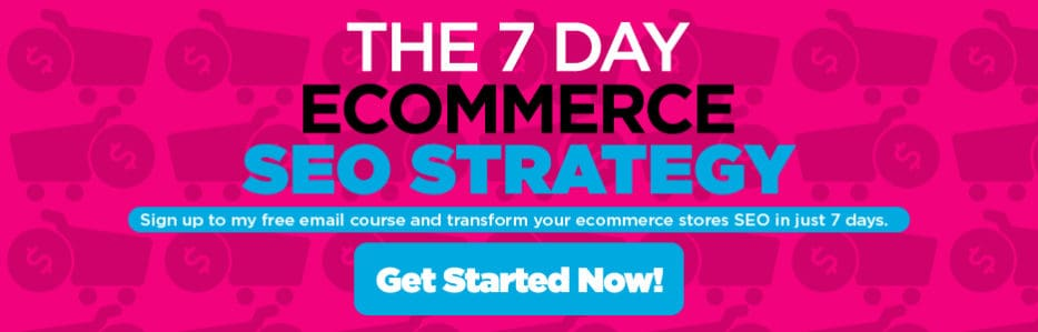 free ecommerce SEO course