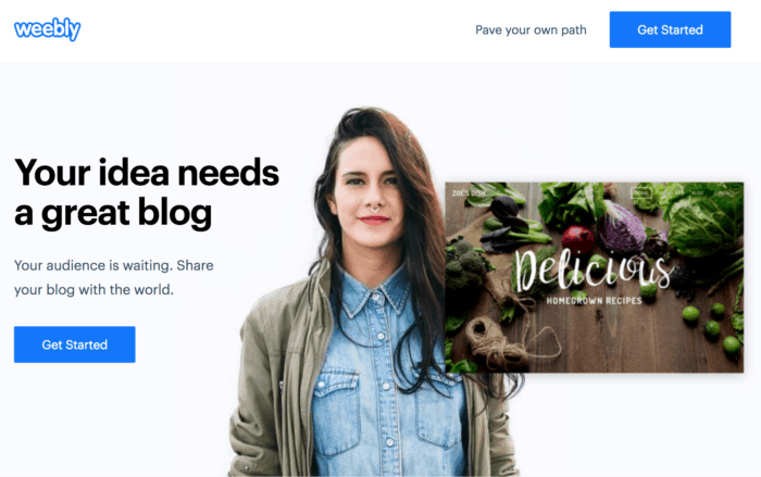 weebly blog post